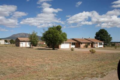 Tijeras, Cedar Crest, Sandia Park, Edgewood, Moriarty, Stanley Single Family Home For Sale: 24 Madole Road