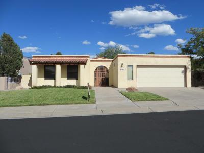 Albuquerque NM Single Family Home For Sale: $290,500
