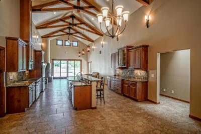 Los Ranchos Single Family Home For Sale: 8650 Rio Grande Boulevard