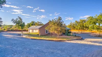 Corrales Single Family Home For Sale: 808 Meadowlark Road