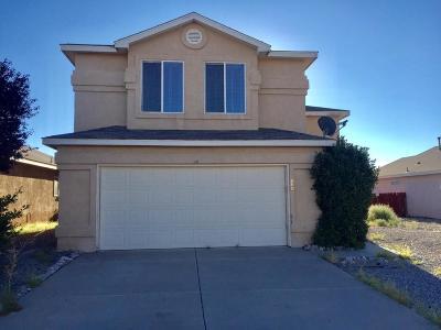 Albuquerque Single Family Home For Sale: 736 Malachite Drive SW