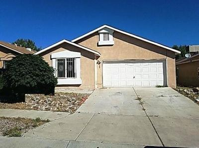 Albuquerque Single Family Home For Sale: 9109 Starboard Road NW