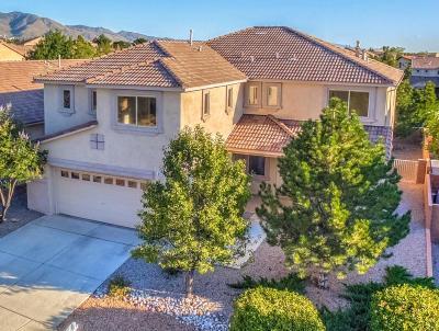 Albuquerque Single Family Home For Sale: 8916 Hampton Avenue NE