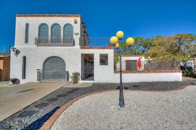 Albuquerque Single Family Home For Sale: 3125 Blume Street NE