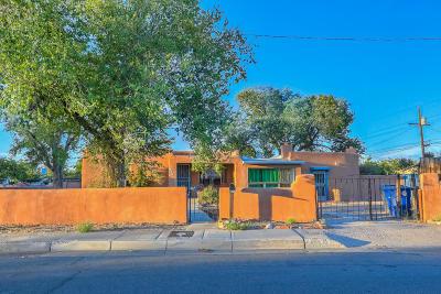 Albuquerque Single Family Home For Sale: 1019 Palo Duro Avenue NW