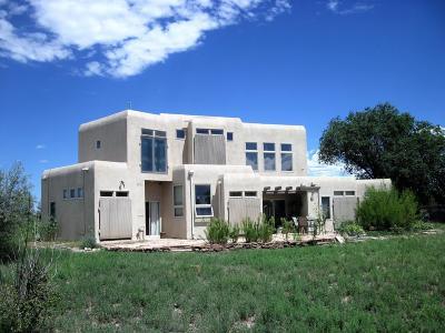 Tijeras, Cedar Crest, Sandia Park, Edgewood, Moriarty, Stanley Single Family Home For Sale: 224 Mi Ranchito Road