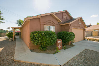 Albuquerque Single Family Home For Sale: 9420 Jetty Court NW