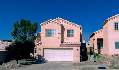 Albuquerque Single Family Home For Sale: 10543 Rockcliff Court NW