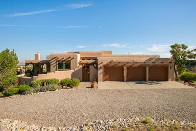 Placitas Single Family Home For Sale: 77 Camino Barranca