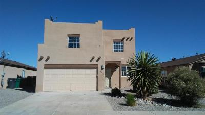 Rio Rancho Single Family Home For Sale: 3512 Elder Meadows Drive NE