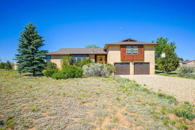Tijeras, Cedar Crest, Sandia Park, Edgewood, Moriarty, Stanley Single Family Home For Sale: 47 Square H Road
