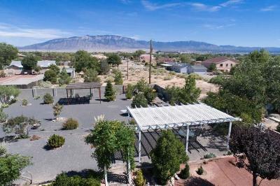 Rio Rancho Single Family Home For Sale: 1422 Golf Course Road SE