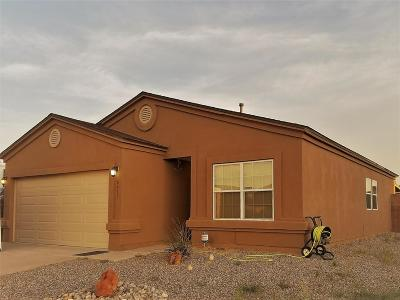 Rio Rancho Single Family Home For Sale: 6411 Mountain Hawk Way NE