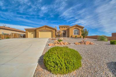 Rio Rancho Single Family Home For Sale: 6837 Nacelle Road NE