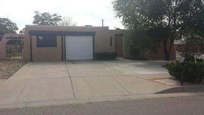 Albuquerque Single Family Home For Sale: 1436 Lucretia Street SW