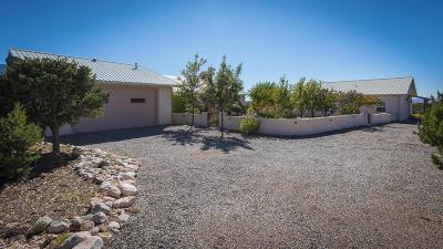 Placitas Single Family Home For Sale: 53 Camino De La Questa Del Aire