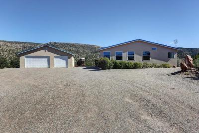Placitas Single Family Home For Sale: 777 State Highway 165