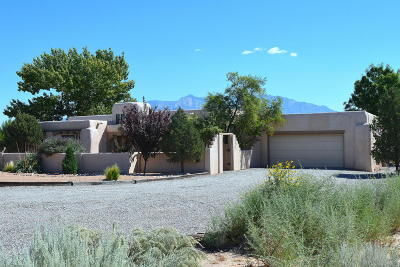 Corrales Single Family Home For Sale: 766 Sagebrush Drive