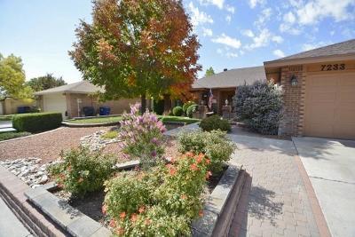 Single Family Home For Sale: 7233 General Kearny Drive NE
