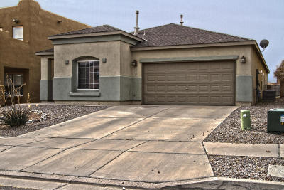 Rio Rancho Single Family Home For Sale: 6032 Crownpoint Drive NE