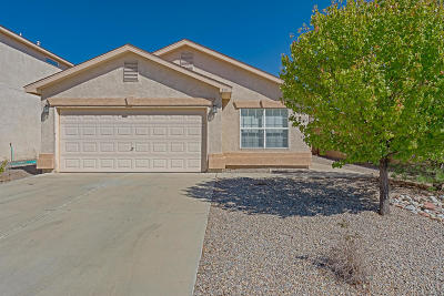 Rio Rancho Single Family Home For Sale: 401 Soothing Meadows Drive NE