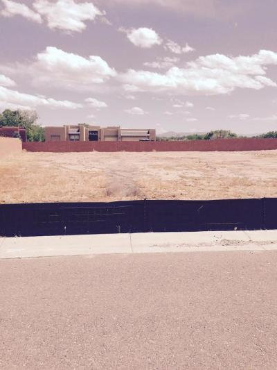 Bernalillo County Residential Lots & Land For Sale: 4808 Valle Romantico Way NW