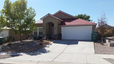 Rio Rancho Single Family Home For Sale: 548 Minturn Court NE