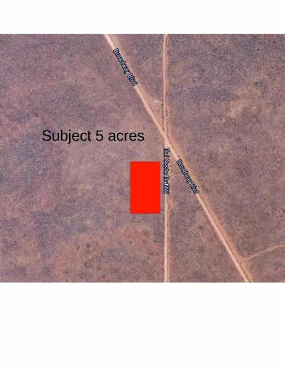 Bernalillo County Residential Lots & Land For Sale: 5 Acres West Of Atrisco Drive NW