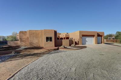 Corrales Single Family Home For Sale: 171 Valverde Road