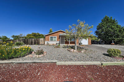 Rio Rancho Single Family Home For Sale: 202 Saffin Drive SE