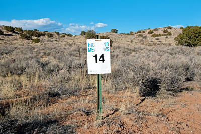 Rio Rancho Residential Lots & Land For Sale: Highland Meadows Drive NE