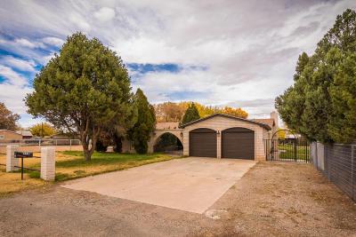 Valencia County Single Family Home For Sale: 570 Solano Drive