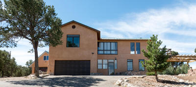 Tijeras, Cedar Crest, Sandia Park, Edgewood, Moriarty, Stanley Single Family Home For Sale: 15 Tecolote Road