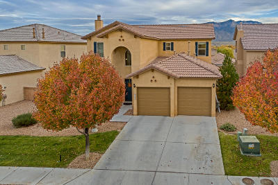 Bernalillo Single Family Home For Sale: 812 Vista Patron