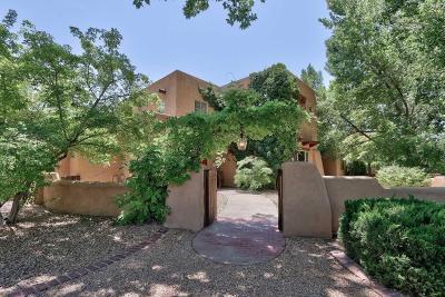 Los Ranchos Single Family Home For Sale: 8206 Rio Grande Boulevard NW