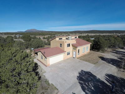 Tijeras, Cedar Crest, Sandia Park, Edgewood, Moriarty, Stanley Single Family Home For Sale: 22 Wildlife Trail
