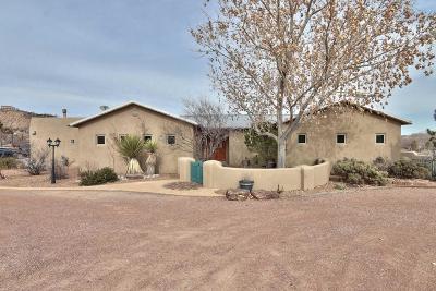 Corrales Single Family Home For Sale: 1334 La Entrada Street SW