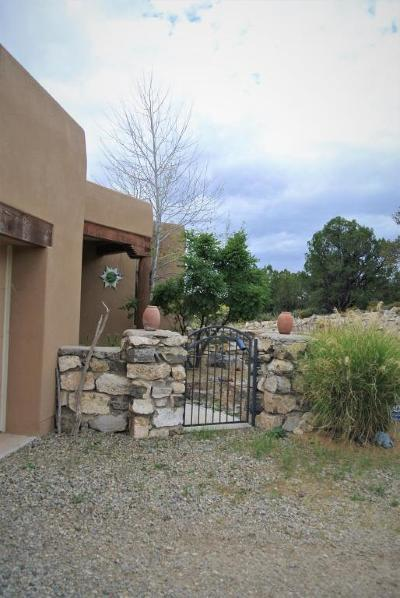 Tijeras, Cedar Crest, Sandia Park, Edgewood, Moriarty, Stanley Single Family Home For Sale: 18 Snowflake Trail