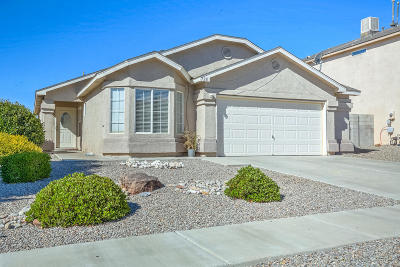 Albuquerque, Rio Rancho Single Family Home For Sale: 728 Ocate Meadows Drive NE