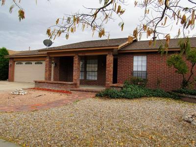 Albuquerque Single Family Home For Sale: 9700 Regal Ridge Drive NE
