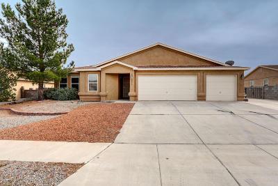 Albuquerque, Rio Rancho Single Family Home For Sale: 5052 Mira Vista Drive NE