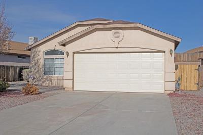 Albuquerque, Rio Rancho Single Family Home For Sale: 7001 Skylar Drive NE