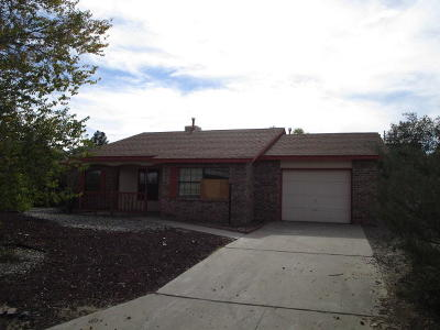 Albuquerque, Rio Rancho Single Family Home For Sale: 481 Rockaway Boulevard NE