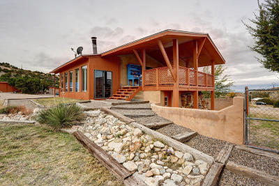 Placitas Single Family Home For Sale: 20 Davis Loop
