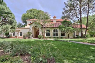 Los Ranchos Single Family Home For Sale: 5200 Eakes Road NW