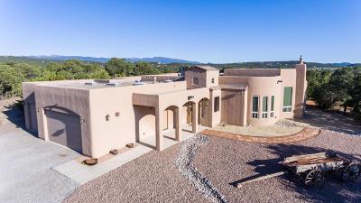 Tijeras, Cedar Crest, Sandia Park, Edgewood, Moriarty, Stanley Single Family Home For Sale: 13 Western Trail Drive