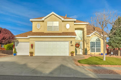 Albuquerque Single Family Home For Sale: 8616 Claridge Place NW