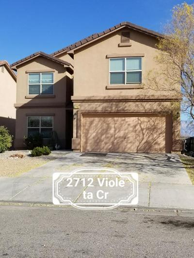 Rio Rancho Single Family Home For Sale: 2712 Violeta Circle SE