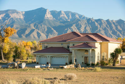 Bernalillo Single Family Home For Sale: 300 Sheriffs Posse Road