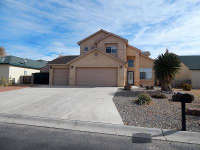 Valencia County Single Family Home For Sale: 22 Parador Road